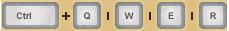 Phím tắt vị trí bình thuốc (Ctrl+Q hoặc Ctrl+W hoặc Ctrl+E hoặc Ctrl+R) trong game Mu Online