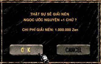 Giải nén ngọc game Mu Online