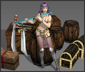 NPC Rhea Mu Online