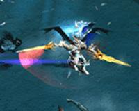 Skill chiến binh (Dark Knight) Mu Online - Chém Xoay Ngang  (Cyclone Slash)