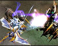 Skill chiến binh (Dark Knight) Mu Online - Phun lửa