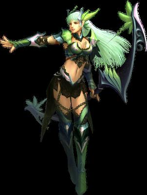 Nhân vật Tiên Nữ (Fairy Elf) game Mu Online