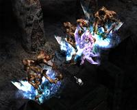 Skill tiên nữ (Elf) Mu Online - Mũi tên băng (Ice Arrow)
