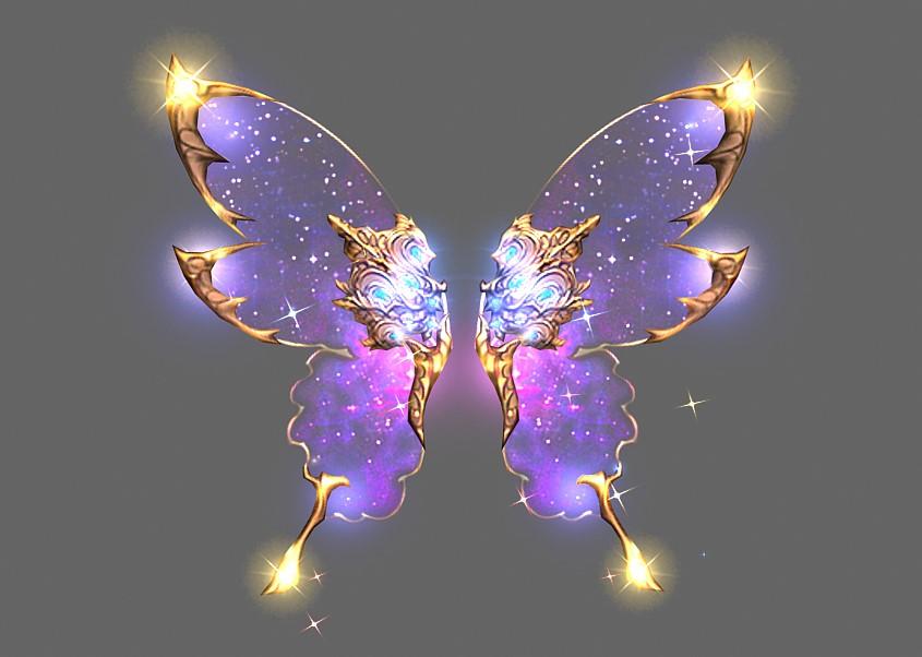 Wing of Celestial Body - Mu Online