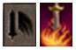 Skill đấu sĩ (Magic Gladiator) Mu Online - Quét lửa (Flame Strike)