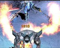 Skill chúa tể (DarkLord) Mu Online - Hoả xích long (Fire Burst)