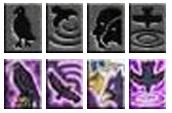 Skill chúa tể (DarkLord) Mu Online - Điều khiển quạ (Raven Attack)