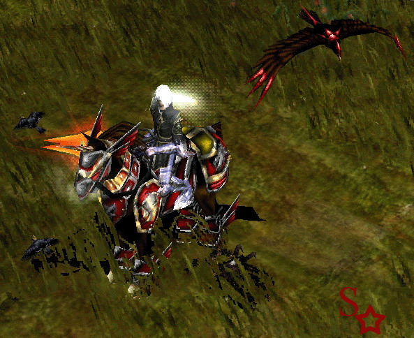 Dark Raven - Nhân vật Chúa Tể (DarkLord) game Mu Online