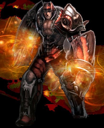 Nhân vật Thiết Binh (Rage Fighter) game Mu Online