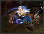 Skill thiết binh (Rage Fighter) Mu Online - Vật Ngã (Chain Drive)