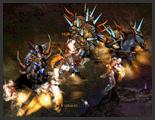 Skill thiết binh (Rage Fighter) Mu Online - Ảo Ảnh Liên Hoàn (Dark Side)