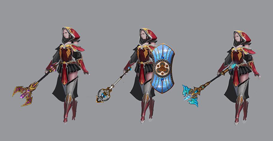 Nhân vật Rune Wizard (Season 14) game Mu Online