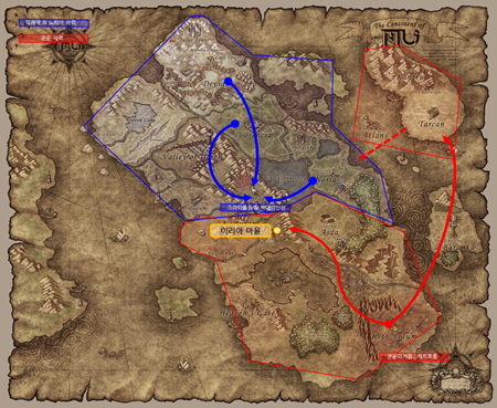 Rune Wizard đến Noria để trả thù - Mu Online