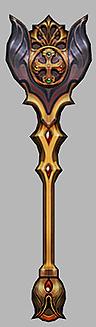 Vũ khí Rune Wizard - Mu Online - Season 14 - Absolute Archangel Rune Mace