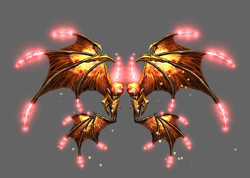 Wings of Flame God - Wing 4 - Mu Online