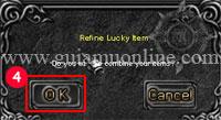 Refine lucky items 3 Mu online