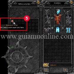 Refine lucky items 4 Mu online