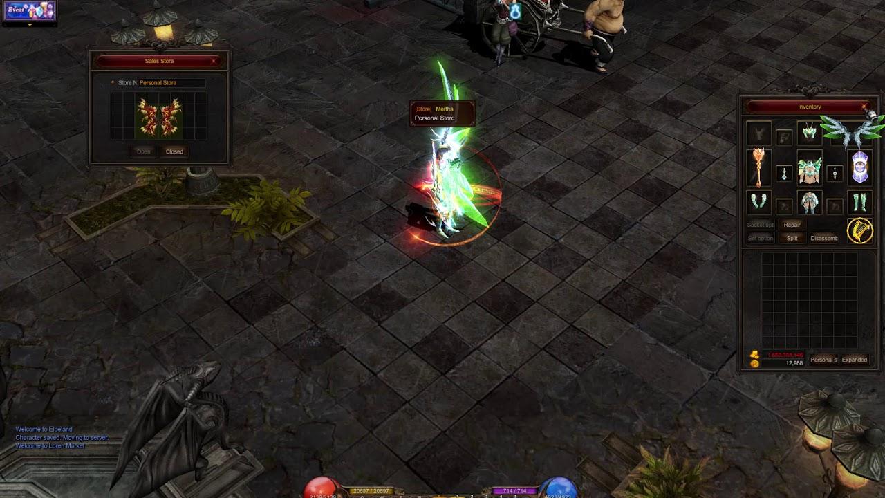Cửa hàng cá nhân trong game Mu Online