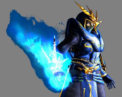 Nhân vật Phù Thủy (Dark Wizard)  trong game Mu Online