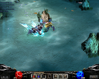 Skill phù thủy (Dark Wizard) Mu Online - Phép đóng băng (Ice)