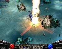 Skill phù thủy (Dark Wizard) Mu Online - Phép cột lửa (Flame)