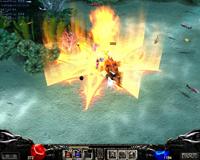 Skill phù thủy (Dark Wizard) Mu Online - Phép lửa địa ngục (Hellfire)