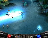 Skill phù thủy (Dark Wizard) Mu Online - Phép luồng nước xanh (Aqua Beam)